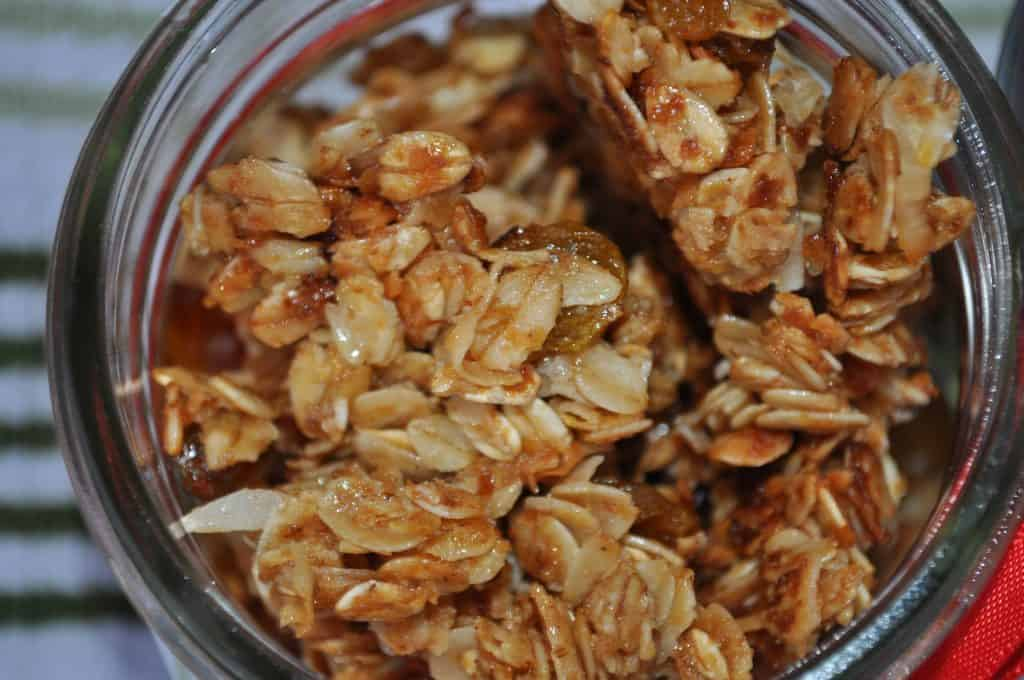 What We're Eating: Nut-Free Granola