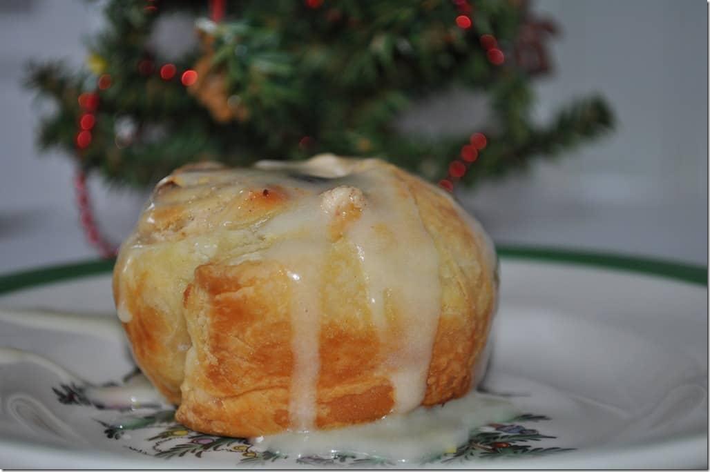 Eggnog bun