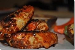 What We're Eating: Grilled Buffalo Wings