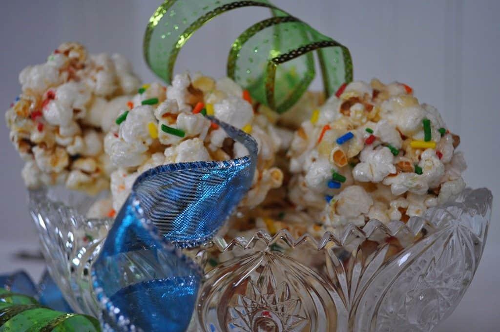What We're Eating: Celebration Popcorn Balls