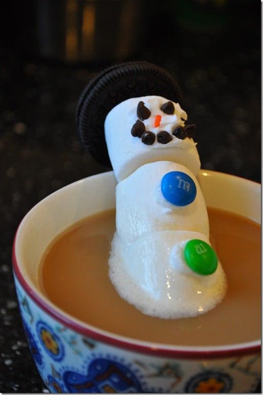 Snowman in Coffee 2