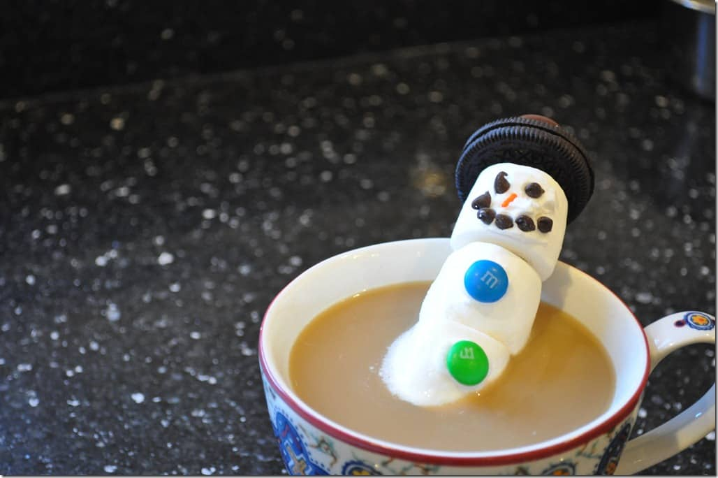 Snowman in Coffee