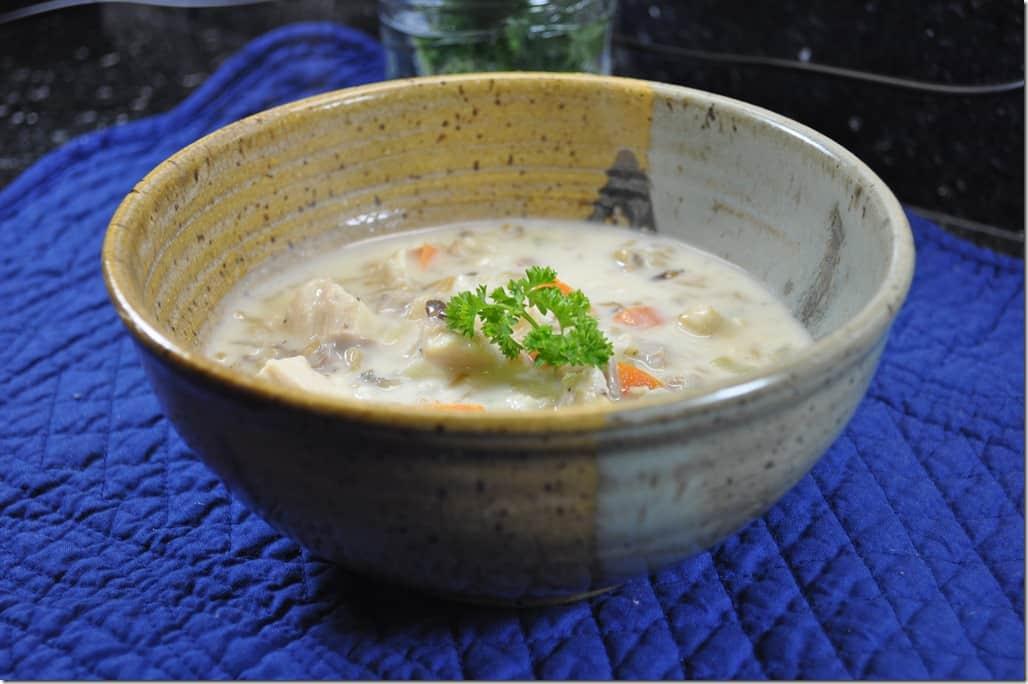 Turkey Rice Soup 3