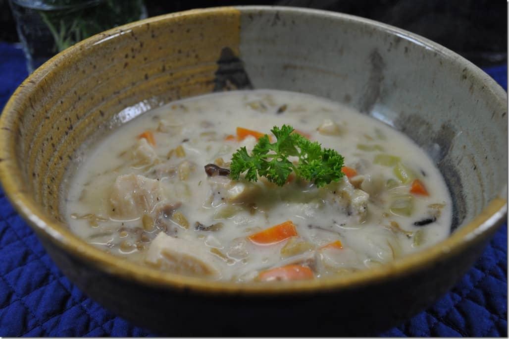 Turkey Rice Soup 4