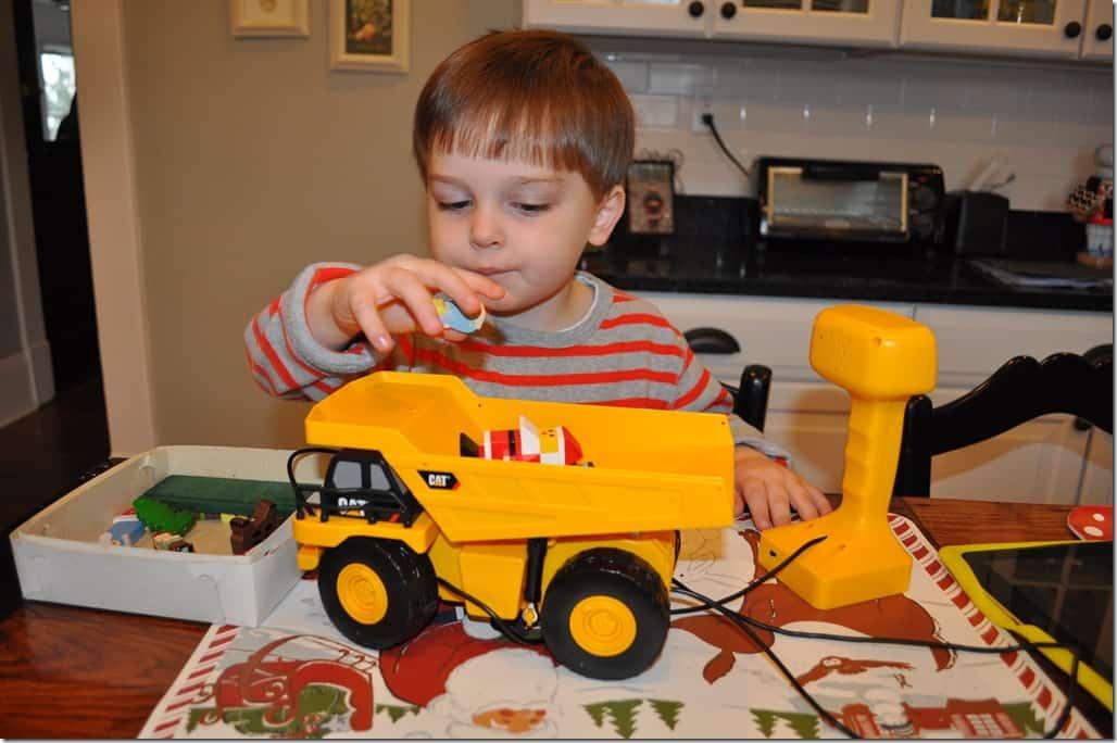 gibbs putting in truck