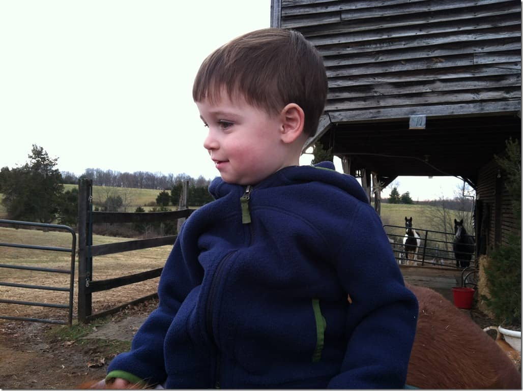 Casey Horseback