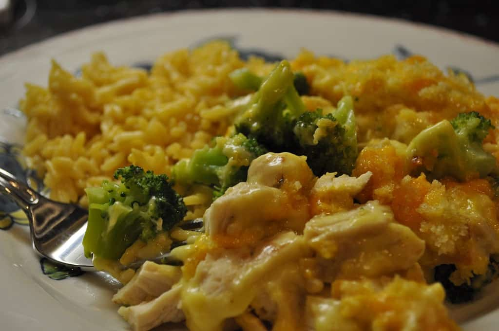 Chicken and broccoli casserole - photo#6