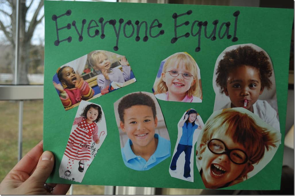 everyone is equal but some are Chapter 7: is everyone equal or are some more equal than others in the previous chapter, we examined social stratification mainly in terms of social class or.