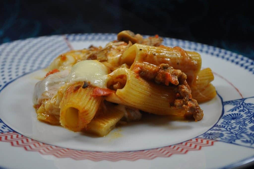 Italian Sausage Pasta Bake
