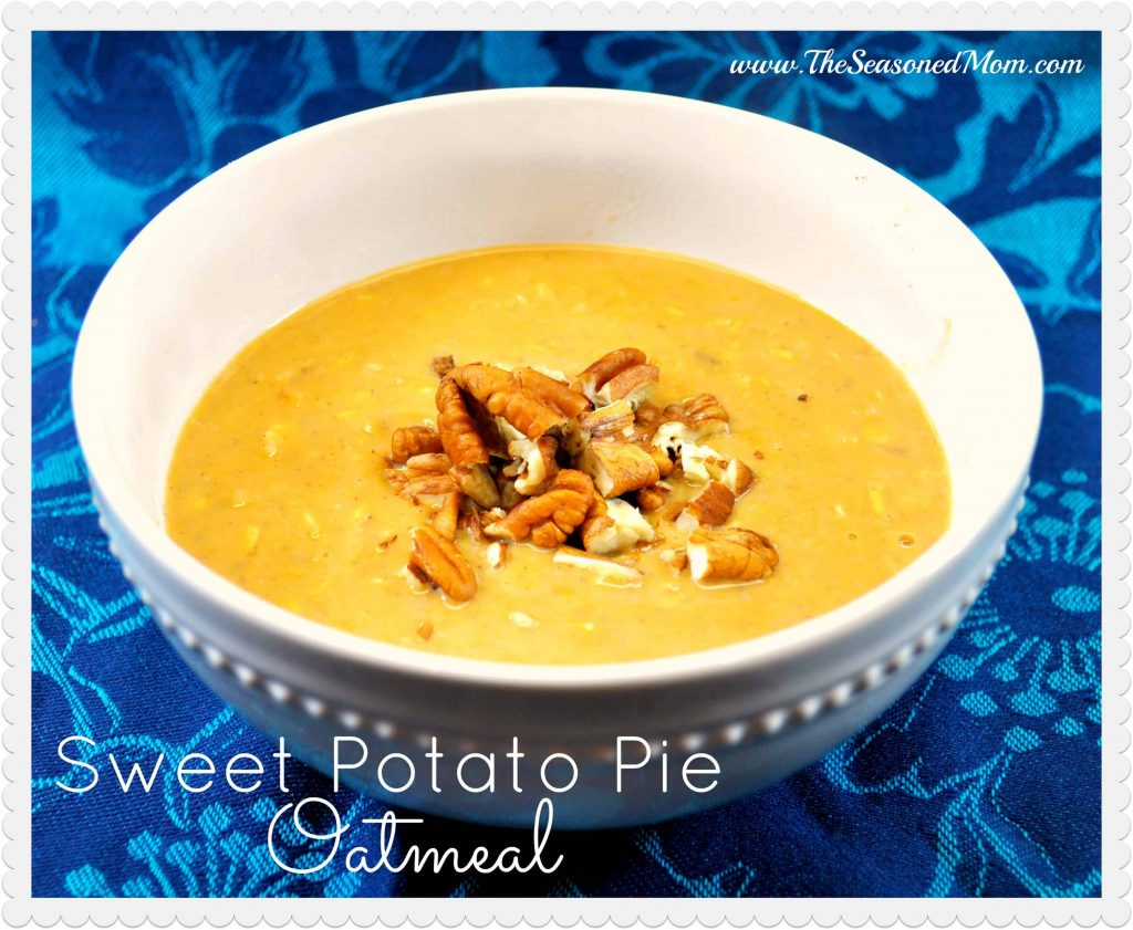 Sweet Potato Pie Oatmeal