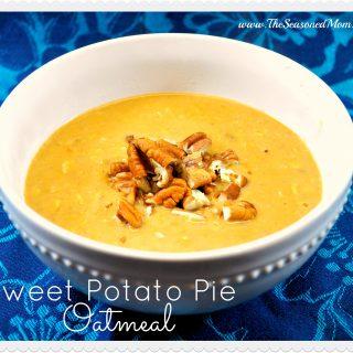 Sweet Potato Pie Oatmeal