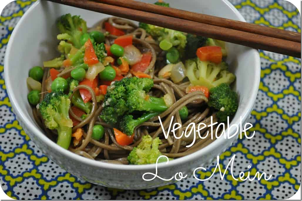 What We're Eating: Vegetable Lo Mein