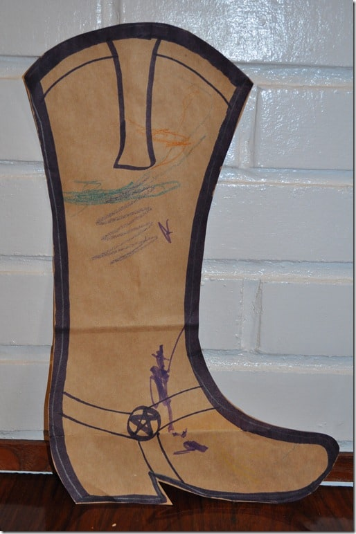 cowboy boot craft 2