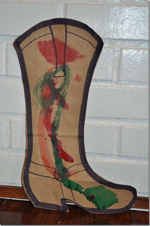 cowboy boot craft 3