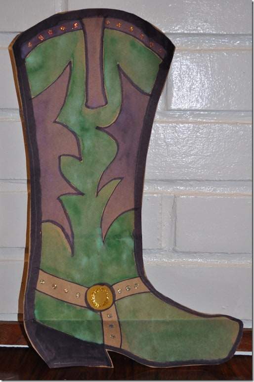 cowboy boot craft