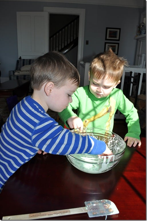 Do we touch oobleck