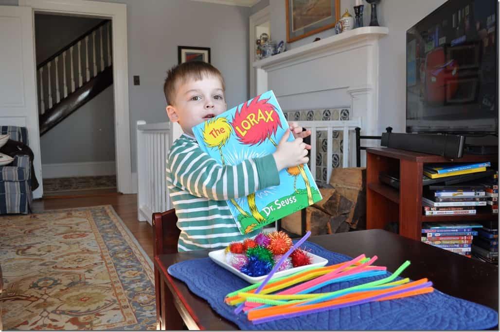 Gibbs with Lorax Book