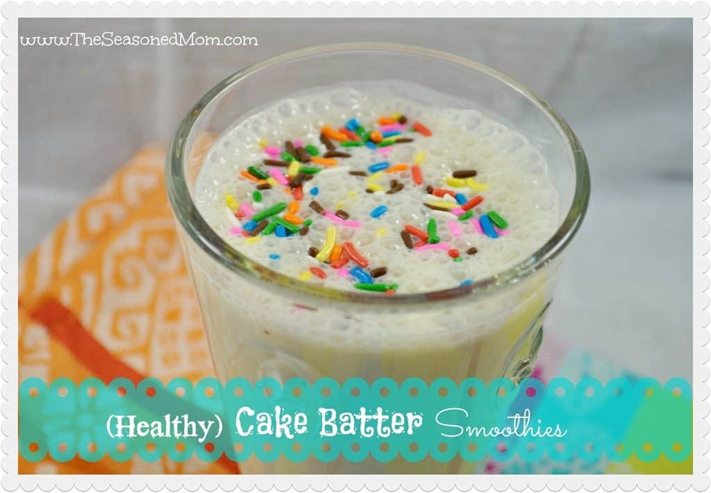 What We're Eating: (Healthy) Cake Batter Smoothies