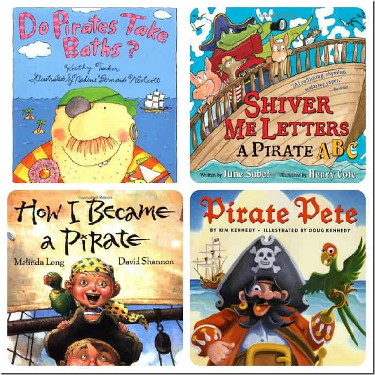Pirate Books for Young Children