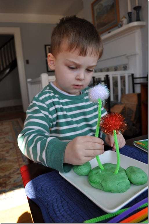 What We're Doing: Making The Lorax's Truffula Trees - The Seasoned Mom