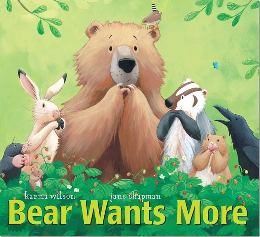 Bear Wants More Book