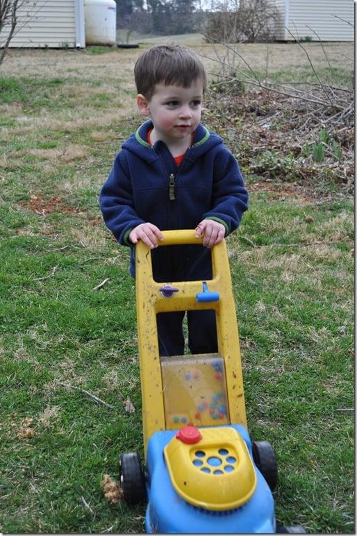 C lawnmower