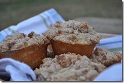 coffee cake muffins basket 2