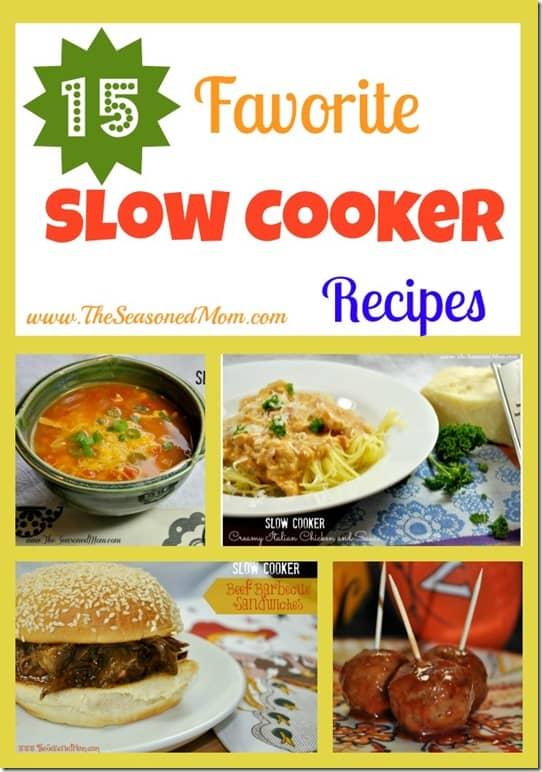 15 Favorite Slow Cooker Recipes
