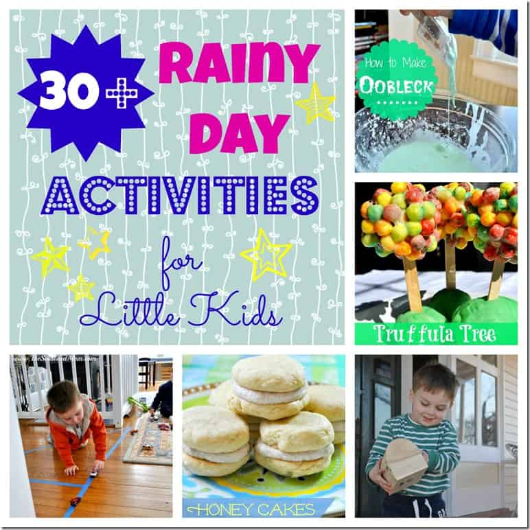 30  Rainy Day Activities for Little Kids