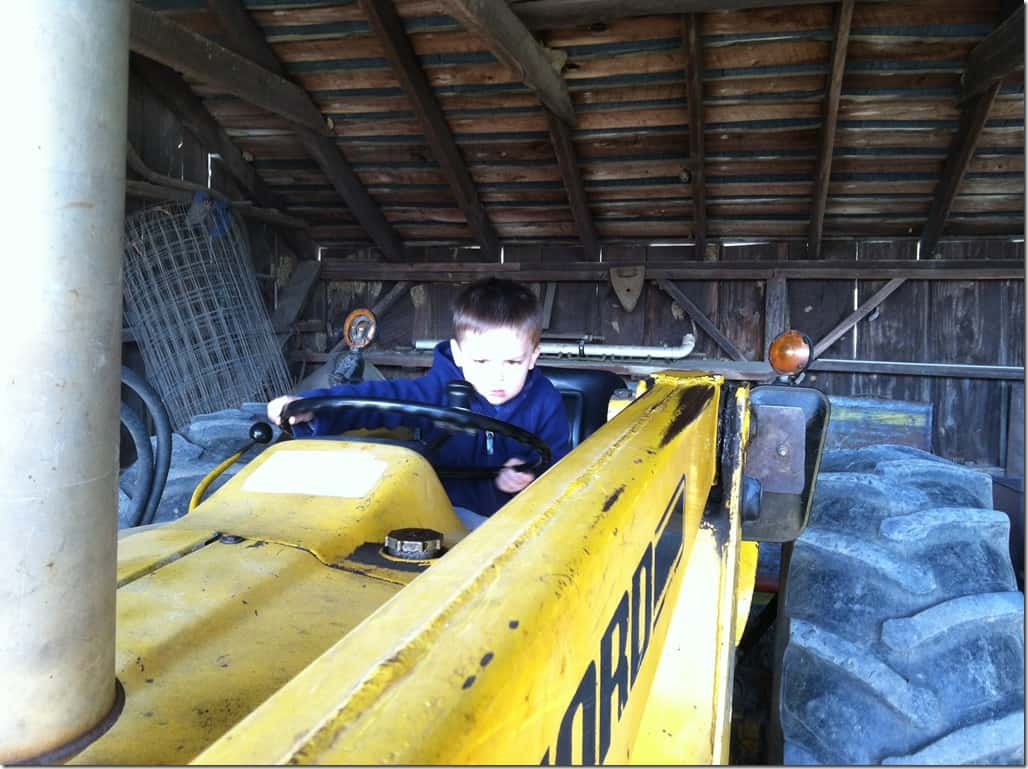 Gibbs tractor