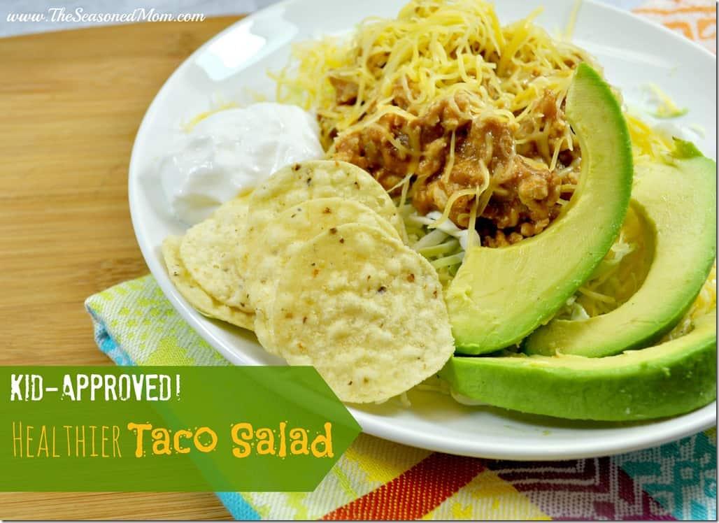 Healthier Taco Salad