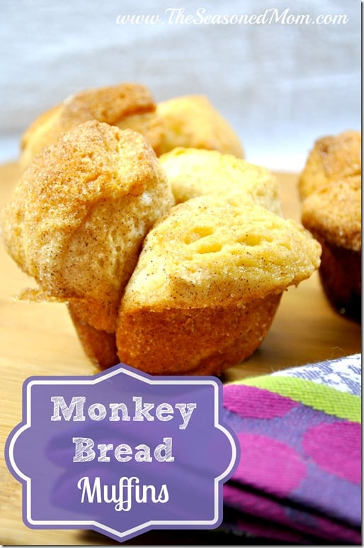 Monkey Bread Muffins - The Seasoned Mom