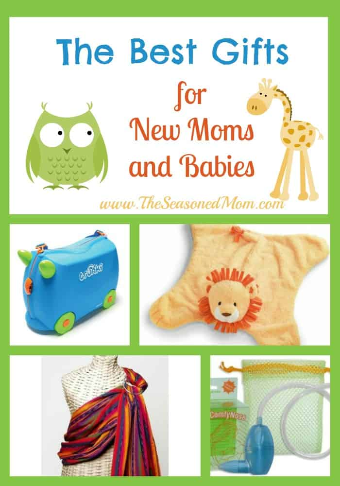 The best gifts for new moms and babies the seasoned mom for Best gifts to give mom