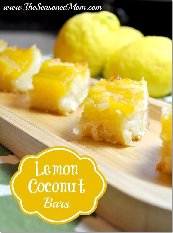 ... Day treat? I highly encourage you to try these Lemon Coconut Bars