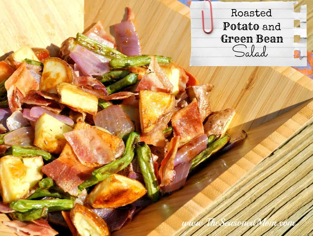 Roasted Potato and Green Bean Salad - The Seasoned Mom