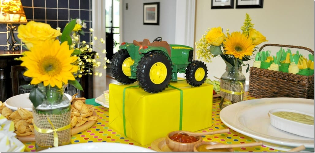 A Tractor Birthday Party The Seasoned Mom