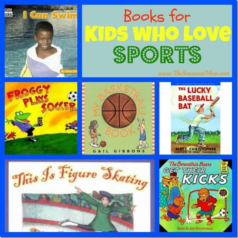 Books About Sports For Kids