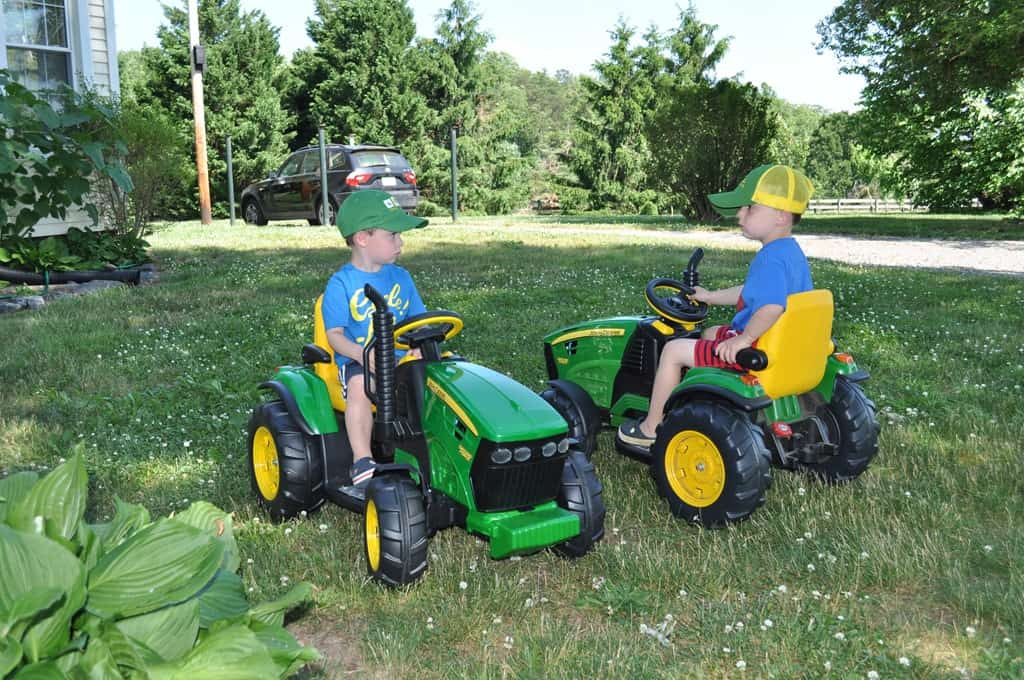 Boy On Tractor : Summer quick and easy banana pudding the seasoned mom