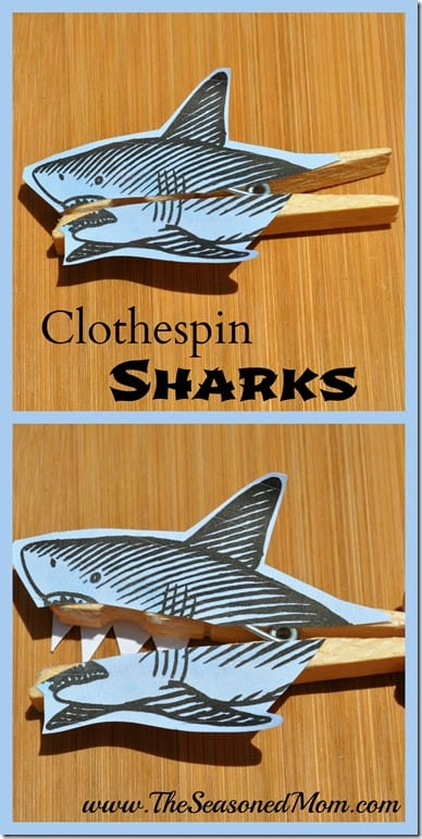 Clothespin Sharks