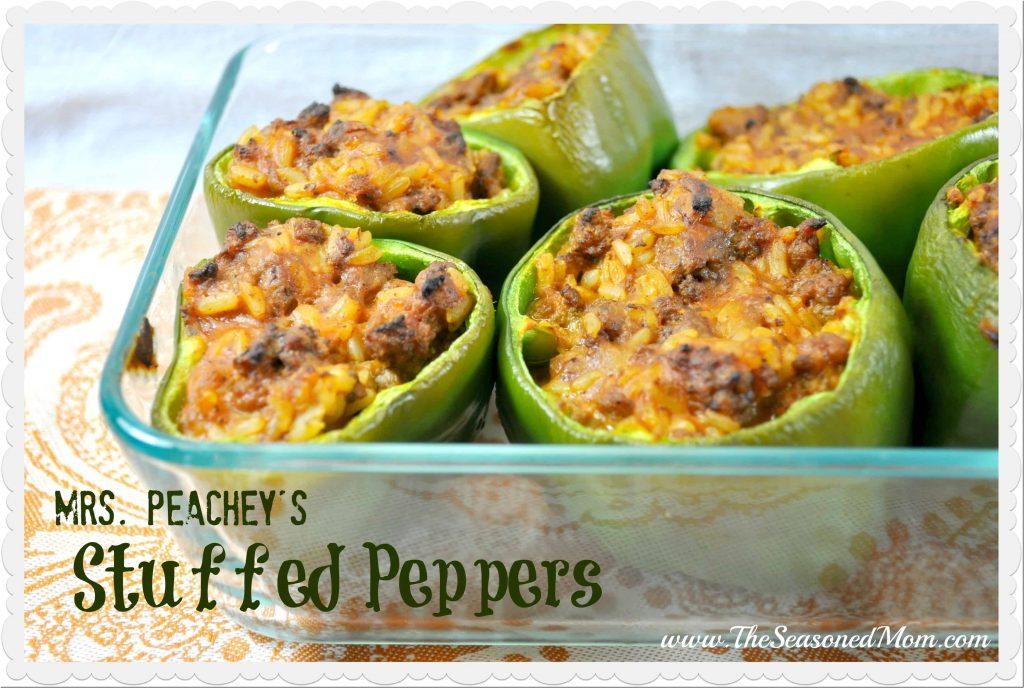 Mrs. Peachey's Stuffed Peppers