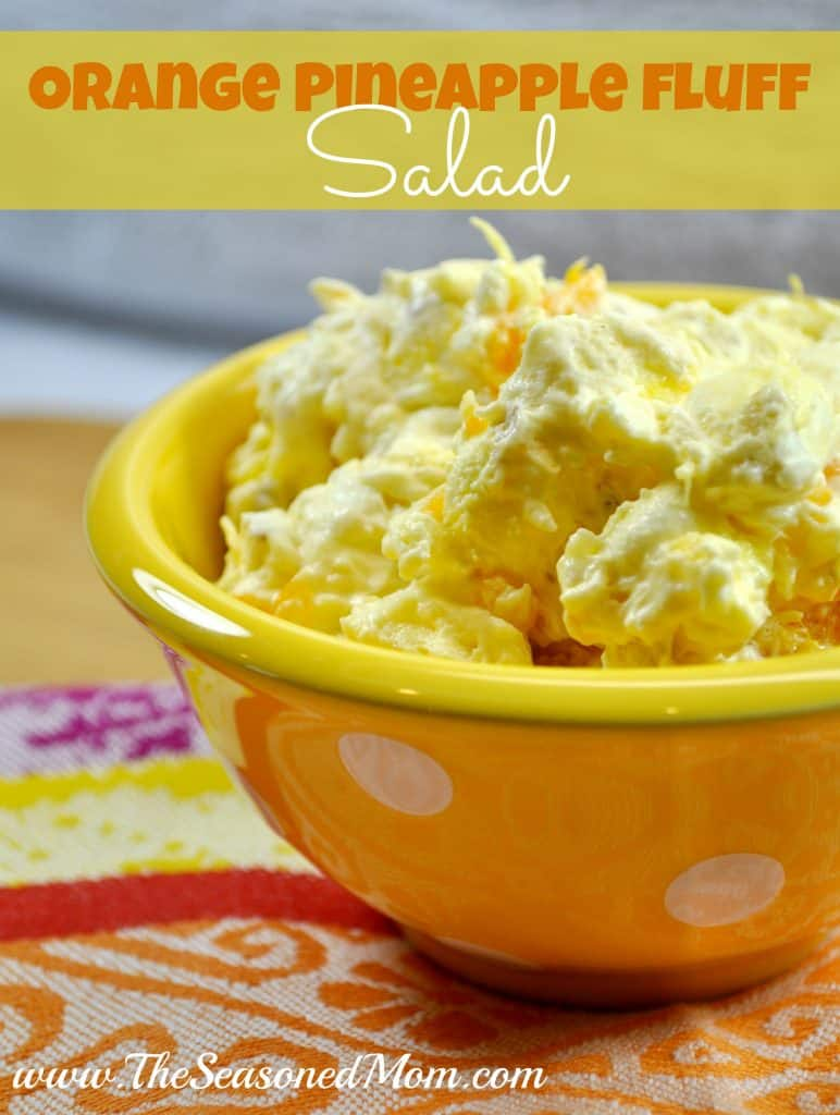 Orange Pineapple Fluff Salad