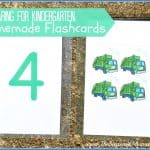 Preparing for Kindergarten: Homemade Flashcards and Other Tips from Teachers