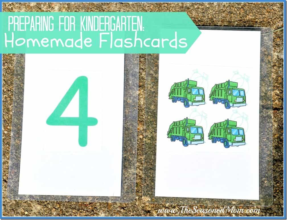 Homemade Flashcards