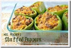 Mrs. Peachey's Stuffed Peppers