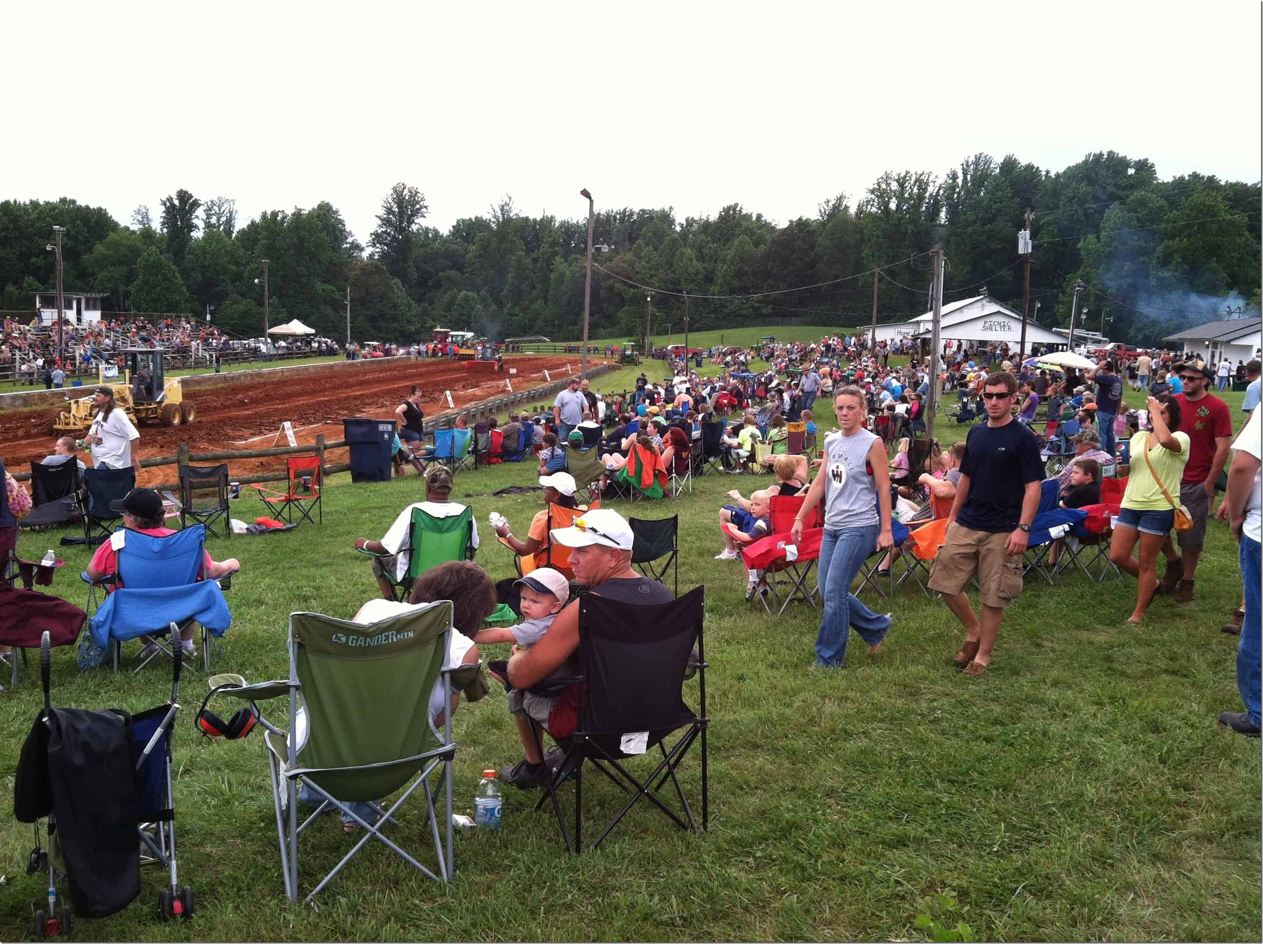 Tractor Pull Lawn