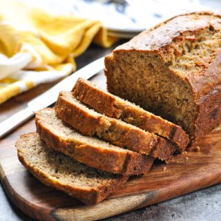 The Perfect One Bowl Whole Wheat Banana Bread