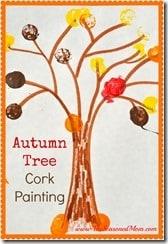Autumn Tree Cork Painting