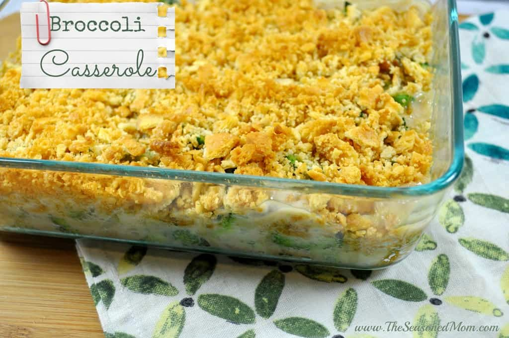 Broccoli Casserole - The Seasoned Mom