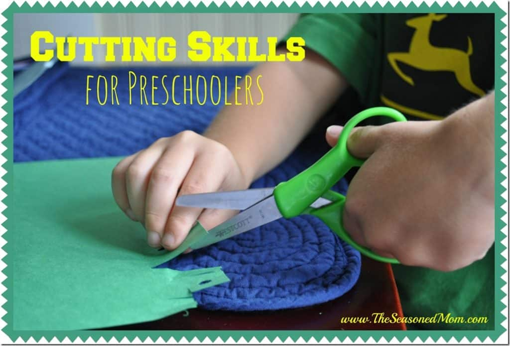 Preparing for Kindergarten: Cutting Skills for Preschoolers