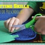 Preparing for Kindergarten: Cutting Skills for Preschoolers